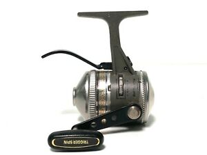 ZEBCO, UL4 Classic, Feathertouch Underspin, Ultralight Spin Cast Reel,  USA