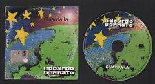 CD SINGOLO PROMO NOT FOR SALE EDOARDO BENNATO GUARDA LA 2001 SPECIALE PER RADIO