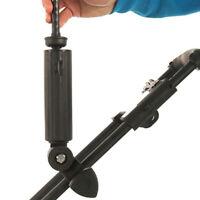 Umbrella Holder Durable Double Lock Golf Cart Baby Adjustable Angle