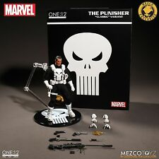 ONE 12 COLLECTIVE Classic Punisher WHITE VARIANT Mezco Exclusive NEW IN STOCK!!!