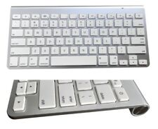 Bluetooth mince clavier sans fil pour Apple iPad iMac iPhone IOS Tablette mise en page UK
