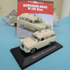 Atlas Ambulancia Colección MB Mercedes-Benz 230W 110 Binz COCHE DE BOMBEROS