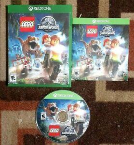 LEGO Jurassic World Complete (Microsoft Xbox One, 2015) VG Shape & Tested