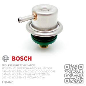 BOSCH FUEL PRESSURE REGULATOR V6 L67 S/C 3.8L [HOLDEN VS-WH-WK STATESMAN/CAPRICE