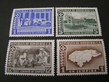 HONDURAS, SCOTT # C365-C368(4),COMPLETE SET 1965 AIR POST KNIGHTS OF MALTA MNH