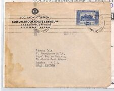 XX337 1946 ARGENTINA Buenos Aires Commercial Cover + Contents GB London