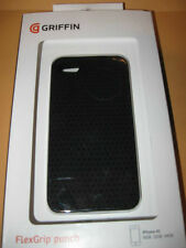 GRIFFIN FlexGrip Punch BLACK silicone CASE IPhone 4S 16Gb 32FB 64GB cell phone