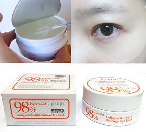 [PETITFEE]Collagen & Co Q10 Hydrogel Eye Patch 60pcs(30 pairs)/wrinkles,moisture