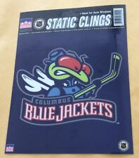 "Columbus Blue Jackets Static Clings Window Sticker 6 1/4"" X 6"""