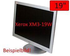 "XEROX XM3-19W 19"" TFT LCD 1280x1024 VGA DVI Monitor Silber Top Zustand"