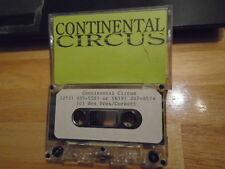 RARE PROMO Continental Circus DEMO CASSETTE TAPE rock 3 UNRELEASED unknown '90s