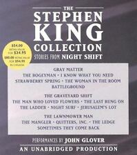 The Stephen King Collection : Stories from Night Shift by Stephen King 10 CDs