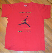 RaRe *1990's NIKE AIR JORDAN* vtg michael jumpman t-shirt S/M NBA Chicago Bulls