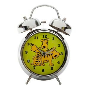 Tik Tok Tubell Alarm Clock - Tiger Metal In Green