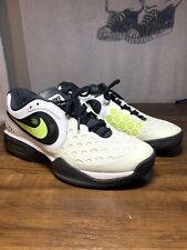 New listing Nike Air Max Mens Court Ballistec 4.3 Dragon X2 Tennis Sneakers Wht/Grn Size 9.5