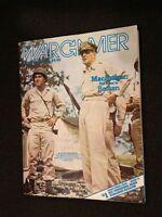 Wargamer #44 MacArthur The Road to Bataan magazine August 1985 war game