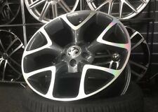 "18"" Gloss Grey & Polished Vauxhall VXR Style alloy wheels & 225/40/18 tyres"