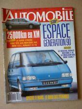 L'Automobile n°516, Renault 19 Chamade, Porsche 911 Carrera 4, Citroën XM V6, BM