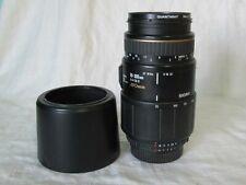 Sigma AF APO 70-300mm f/4-5.6 D Macro for Nikon AF w/ Lens Hood