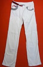 LESLIE Pantalon Taille 38 Fr - Blanc - Quelques strass - Droit