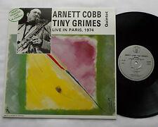 Arnett COBB-Tiny GRIMES QUINTET Live in Paris 1974  FRENCH ORIG LP NEW-UNPLAYED