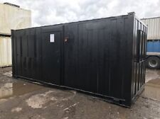 21ft x 8ft Anti Vandal Office - best value secure open plan container office