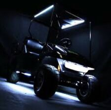 4pc LED WHITE GOLF CART KART NEON UNDERBODY UNDERGLOW LIGHT 12V WATERPROOF SET