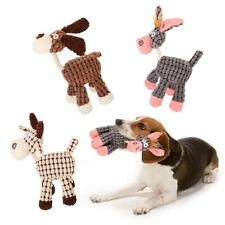 Pet Chew Toys Squeaker Squeaky Cute Soft Plush Play Sound Dog Puppy Teeth~
