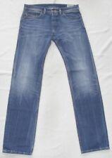 DIESEL Stretch Jeans Safado 0844c blu scuro colori attenuati NUOVO