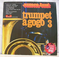 """33 tours JAMES LAST Vinyl LP 12"""" TRUMPET A GOGO 3 Trompette POLYDOR 249239"""