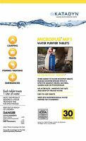 NEW Katadyn Micropur MP1 Ultralight Series Water Purification 30 Tablets 8013692