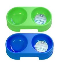 BoyzToys RY786 Robust Plastic Dog Food and Water Bowl For Travel/Everyday Use