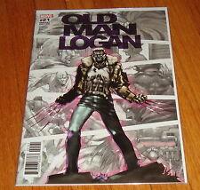 Old Man Logan #21 Kia Asamiya 1:25 Variant Edition 1st Print Wolverine