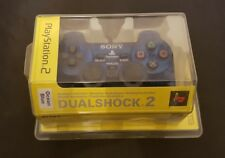 Official Sony Playstation 2 Dualshock 2 Controller Ocean Blue - New & Sealed Ps2