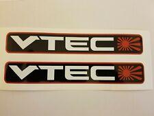 Vtec Rising Sun Autocollants X 2