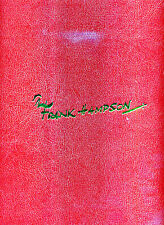 Alastair Crompton / Tomorrow Revisited The Complete Frank Hampson Signed 1st ed