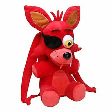 "Five Nights at Freddy's 18"" Red Foxy Plush Backpack-FNF 18"" Foxy Backpack-New!"