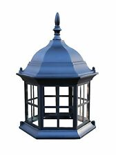Lawn Lighthouse Top Assembly. Aluminum Top for Lighthouse Beacons. Glass Windows