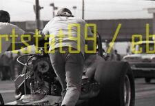 """Lions Drag Strip - """"Praying Mantis"""" Front Engine Dragster - Vtg 35mm Negative"""