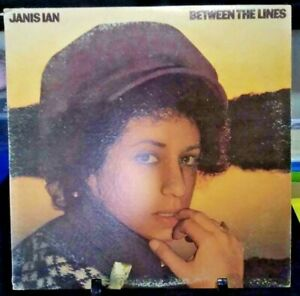 JANIS IAN Between the Lines Album Released 1975 Vinyl Collection USA Press