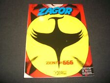 ZAGOR N.666 ZENITH 666 - CON POSTER - COVER VARIANT LUCCA 2016 - NUOVO