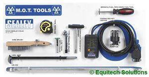 Sealey MOTBKIT MOT Shadow Board with Tools TST22 TSTPG8 TST/DG VS0210 VSTL760