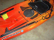 Anchor Trolley Kit w/Harken Pulleys & Tie Downs for SlideTrax Wilderness Kayak