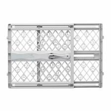 "North States Mypet Paws 42"" Portable Pet Gate: Expands Locks In Place With No"