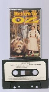 Children's Audio Cassette - 1985 WALT DISNEY-RETURN TO OZ-READ BY ANNA MASSEY