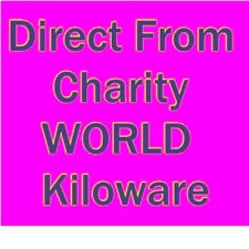 DIRECT FROM CHARITY - 5 Kilos of  Unsorted, WORLD  stamps on paper - REDUCED!!
