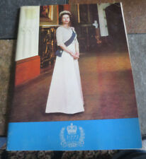 "The Queens Silver Jubilee 1977 MAGAZINE Book ""QUEEN ELIZABRTH'S Guards USA Tour"