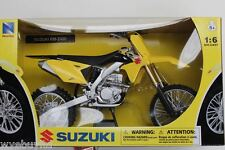 Newray Suzuki RMZ 450 2014 motocross moto da cross modellino bici 1:6 scala