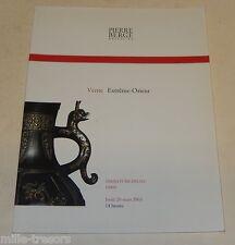 Catalogue de Ventes Pierre BERGER & Associés 2003 : EXTREME ORIENT