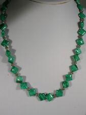 "20"" Malachite Bead Necklace"